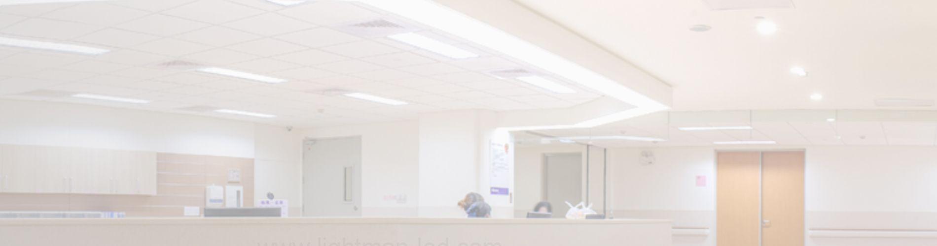 slide_medical Eclairage LED pour établissements Médicaux
